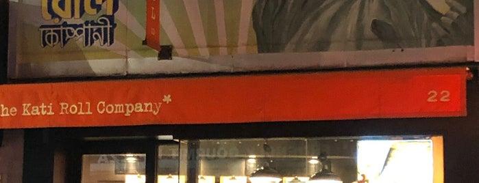 The Kati Roll Company is one of FiDi, Tribeca, Chinatown, SoHo.