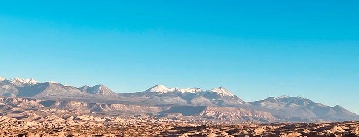 La Sal Mountains Viewpoint is one of Utah + Vegas 2018.