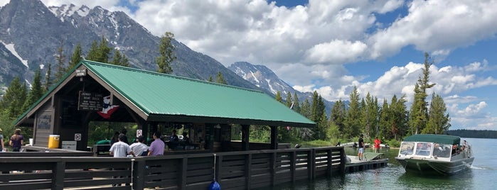 Jenny Lake Boating is one of Wild West Travel - 2020.