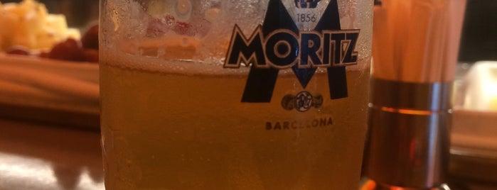 Fàbrica Moritz Barcelona is one of Posti che sono piaciuti a Dominic.