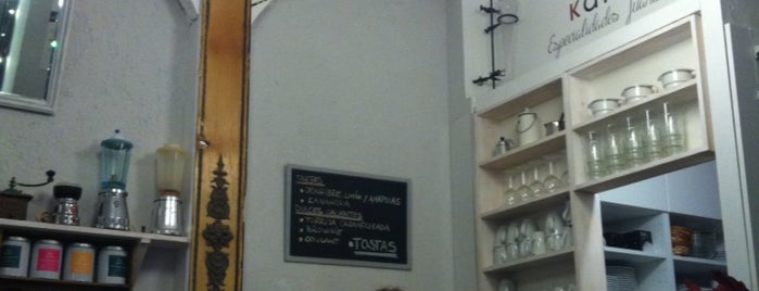 Juanse Kafe is one of Cafeterias con encanto Madrid.