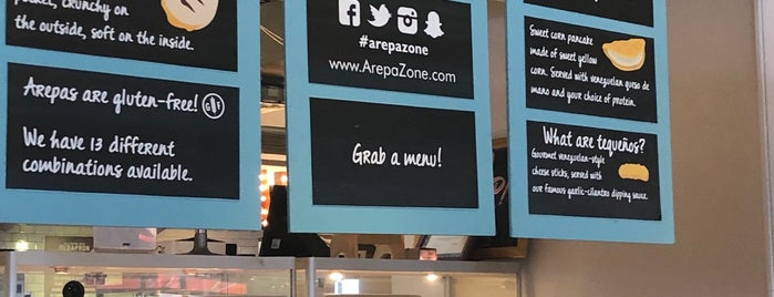 Arepa Zone is one of DC.