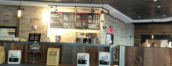 Republik Coffee Bar is one of Gespeicherte Orte von Allison.