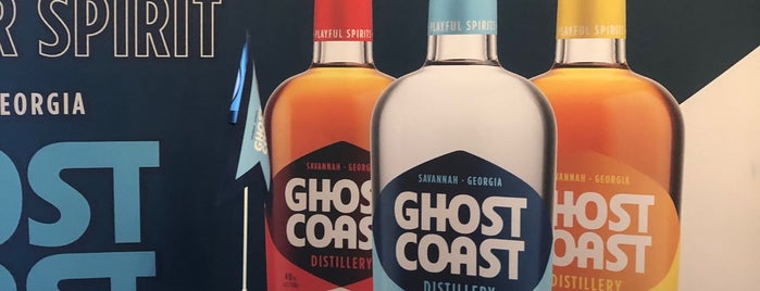 Ghost Coast Distillery is one of savannah.