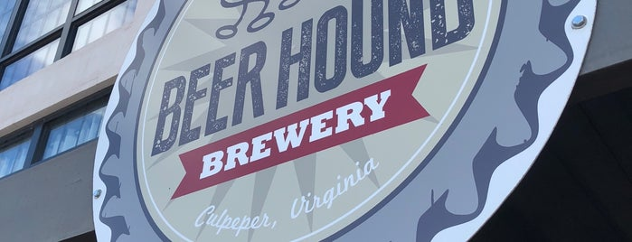 Beer Hound Brewery is one of Posti salvati di Rachel.