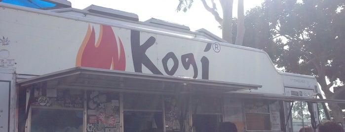 Kogi BBQ is one of James Beard.
