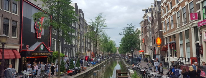 Barrio Rojo is one of Amsterdam.