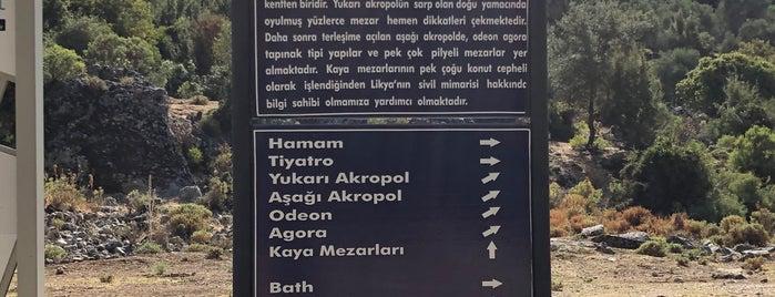Pınara Antik Kenti is one of Kas.