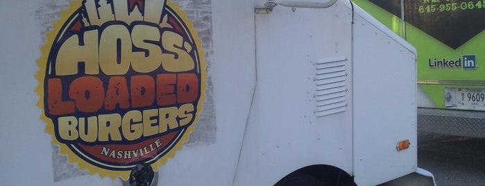 Hoss Loaded Burgers Truck is one of Nashville.
