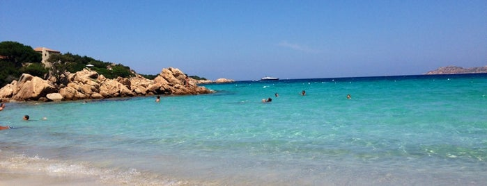 Spiaggia Capriccioli is one of Asliさんのお気に入りスポット.