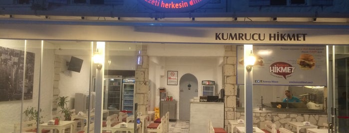 Kumrucu Hikmet is one of Meşhur Çeşme Kumrusu.