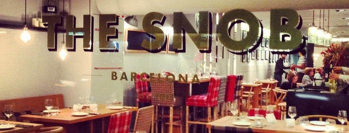 The Snob is one of Burguer BCN.