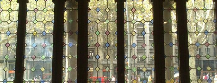 Palacio Macaya is one of Ruta a l'Eixample. La ruta del modernisme.