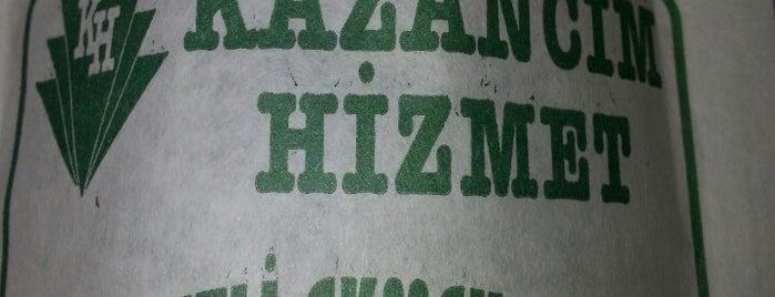Konyalı Kazancım Hizmet Etli Ekmek Salonu is one of Dilara 님이 저장한 장소.
