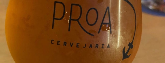 Proa Cervejaria Salvador is one of Lugares favoritos de Victor.