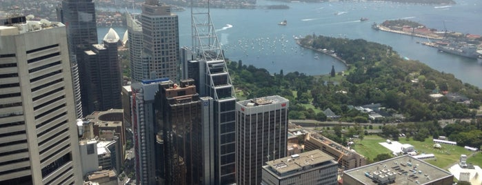 Sydney Tower Eye is one of Victor'un Beğendiği Mekanlar.