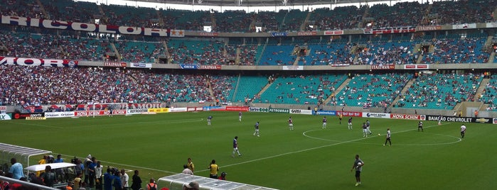 Itaipava Arena Fonte Nova is one of Big Matchs's Today!.