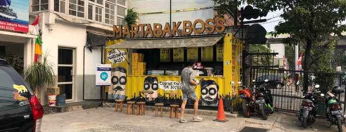 Martabak Boss Gunawarman is one of Jakarta / Indonesien.