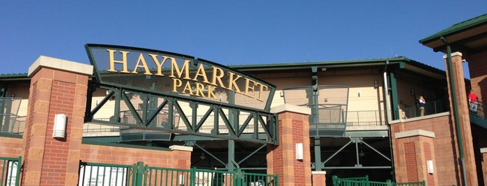 Hawks Field at Haymarket Park is one of Lugares favoritos de Glenn.