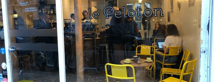 Le Peloton Café is one of Paris, je mange.