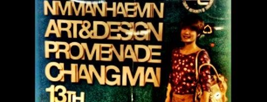 NAP (Nimmanhaemin Art & Design Promenade) is one of Thailand.