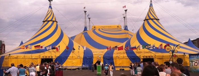 Cirque Du Soleil - #Totem is one of Kerry'in Beğendiği Mekanlar.