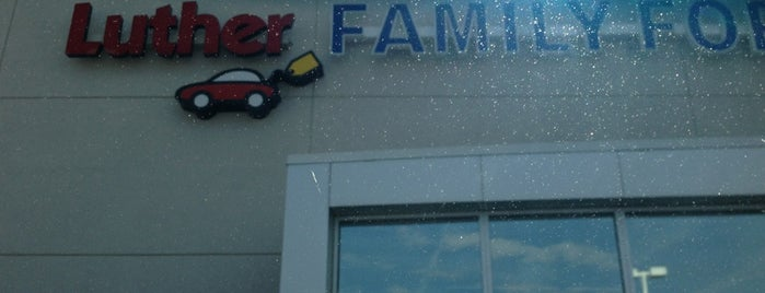 Luther Family Ford is one of Favorite Random Places.