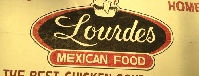 Lourdes Mexican Food is one of Lieux sauvegardés par Denette.