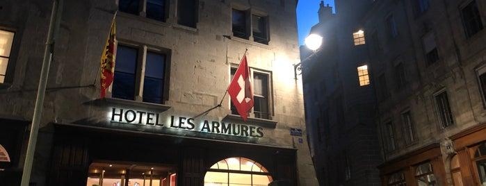 Hôtel Les Armures is one of Locais curtidos por T.