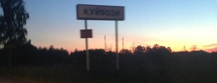 Куйвози is one of Julia : понравившиеся места.