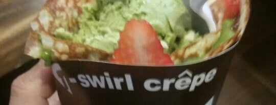 T-Swirl Crepe is one of philly things.