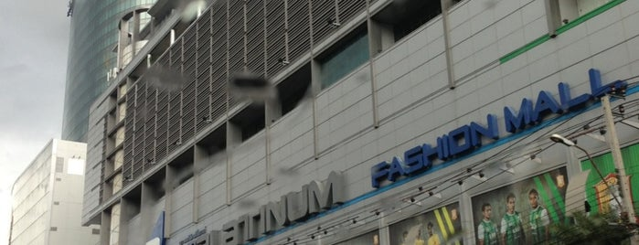 The Platinum Fashion Mall is one of Thailand.