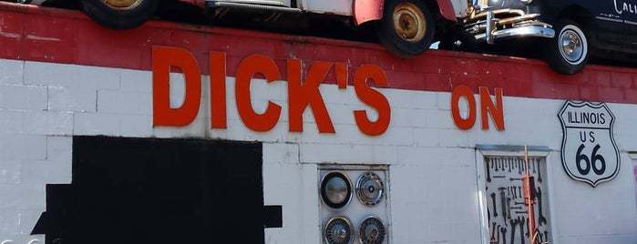 Dick's Towing Service Inc. is one of Route 66 Roadtrip.