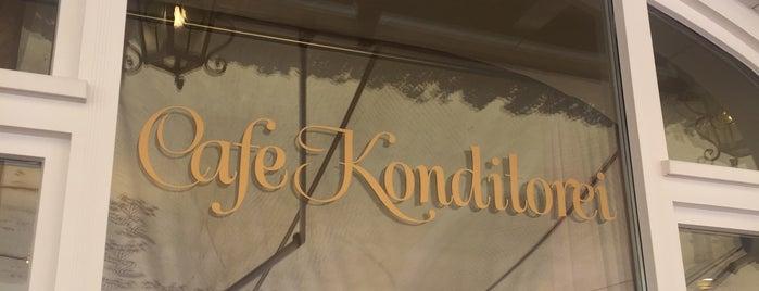 Café Konditorei Braun is one of Locais curtidos por Cida F..