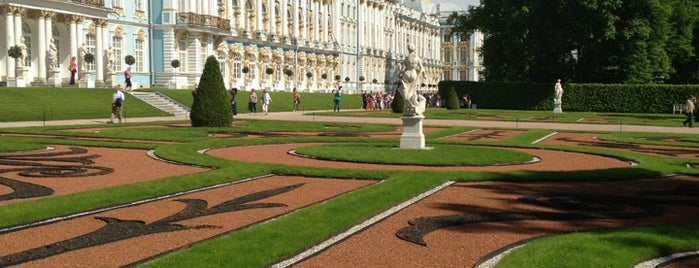 Catherine Park is one of Top 5 palaces near St. Petersburg.