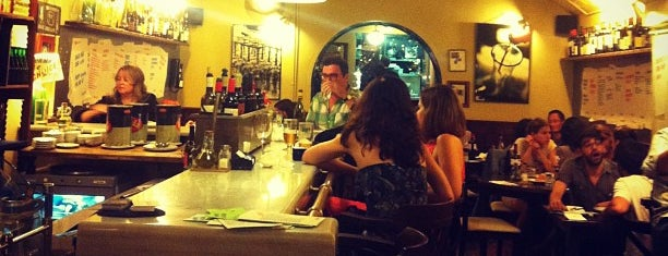 Bar del Pla is one of Natural wines in Barcelona.