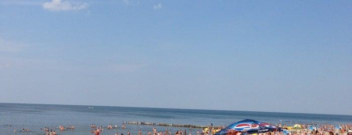 Зеленоградский пляж is one of Дорога Спб - Калининград.