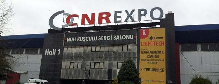 CNRExpo Fuar Merkezi is one of Locais curtidos por Erkan Uğur.
