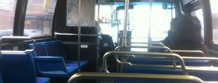 MTA Bus - B48 is one of NYC Brooklyn.