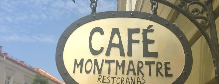 Café Montmartre is one of Vilnius for my niggas.