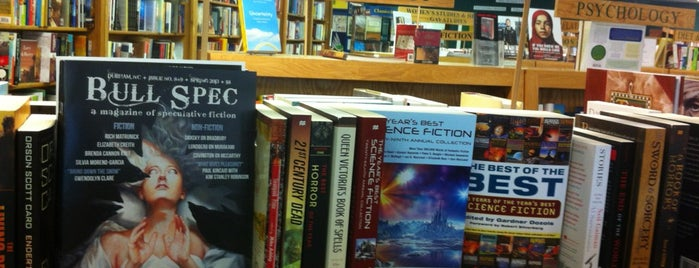 Quail Ridge Books & Music is one of Raleigh Favorites.