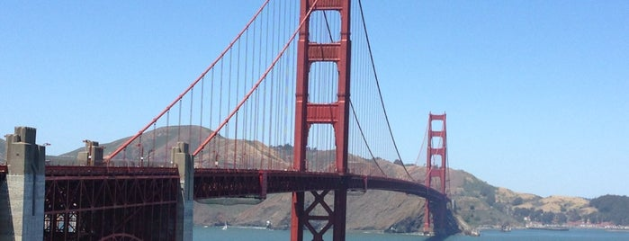 Golden Gate Bridge is one of My favoite places in USA.