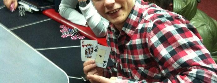 Покер Клуб s-club is one of สถานที่ที่ Кирилл ถูกใจ.