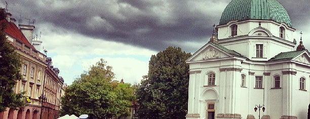 Rynek Nowego Miasta is one of Warsaw.