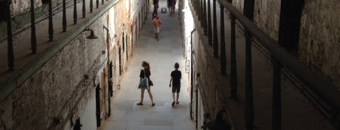 Eastern State Penitentiary is one of Frolic!.