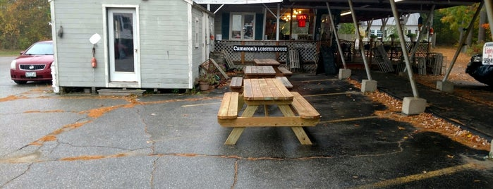 Cameron's Lobster House is one of Maine Lobster.
