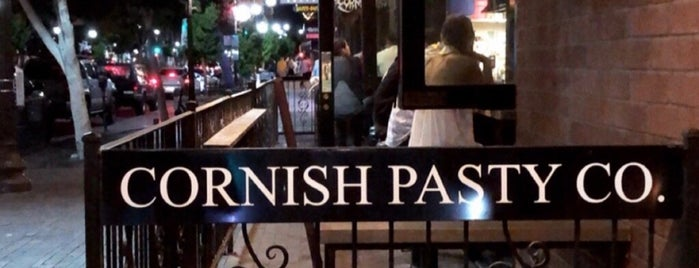 Cornish Pasty Co is one of Tempat yang Disukai Rob.