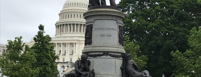 James A. Garfield Monument is one of Massive List of Tourist-y Things in DC.