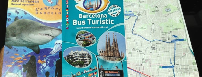 Barcelona Bus Turístic is one of Lugares favoritos de Aline.