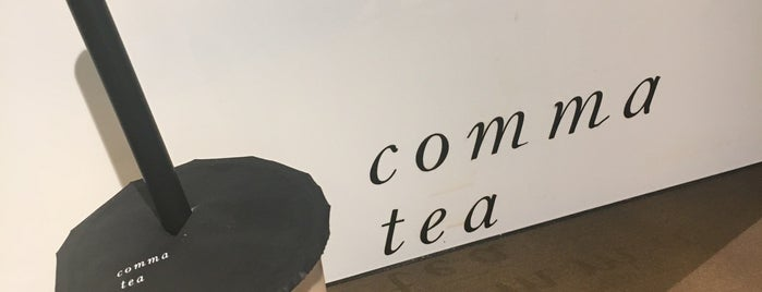 comma tea is one of 大人のたぴおかりすと.